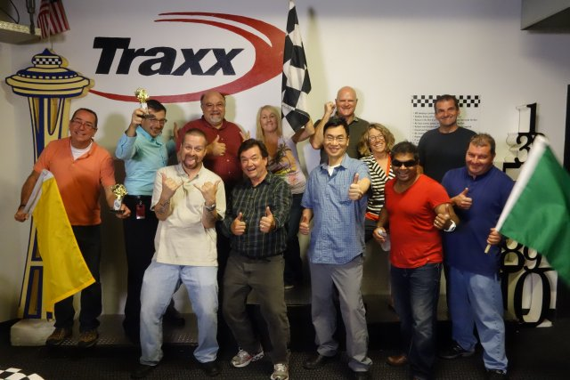 Team Building is Fun at Traxx!