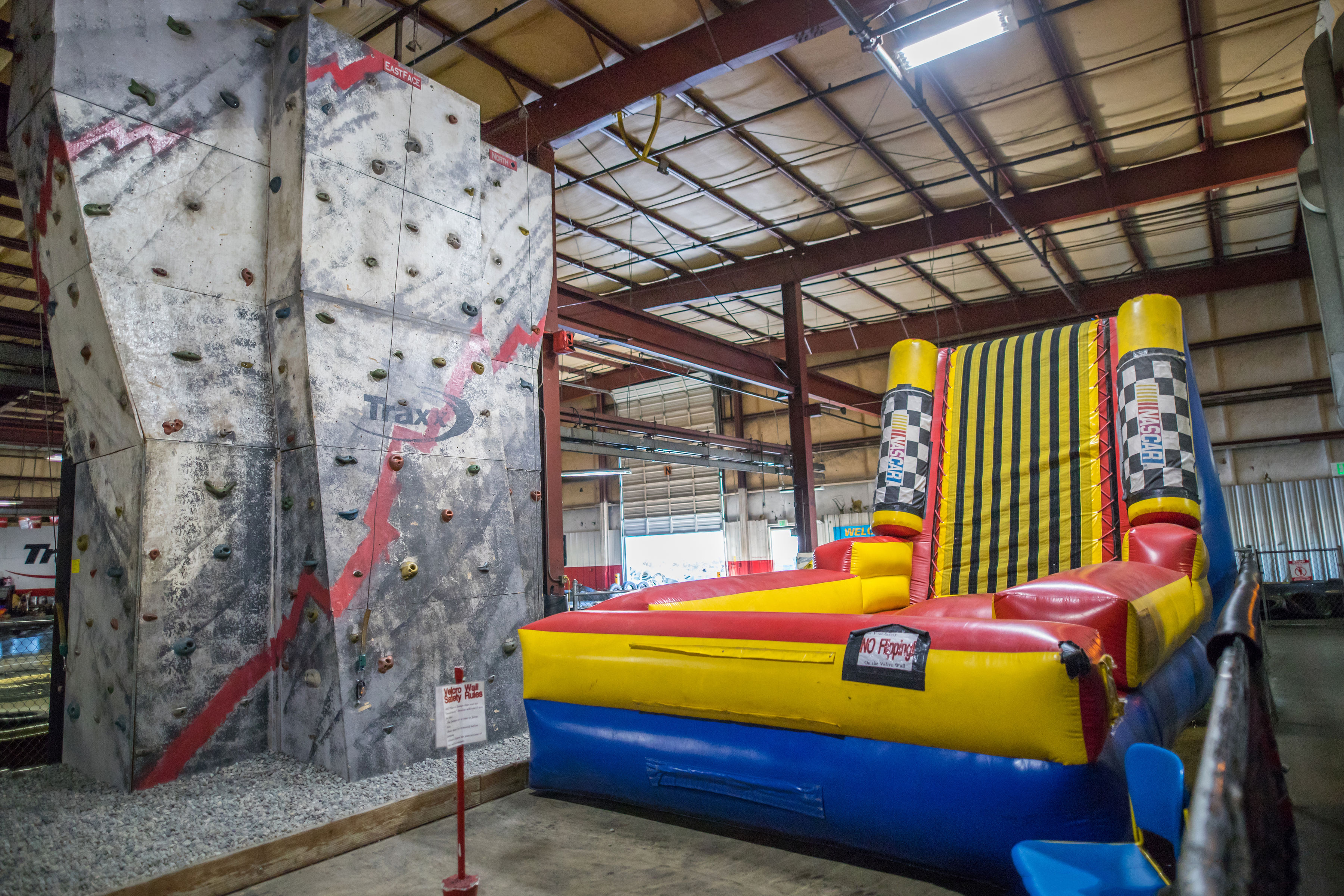 Climbing Wall and Velcro Wall