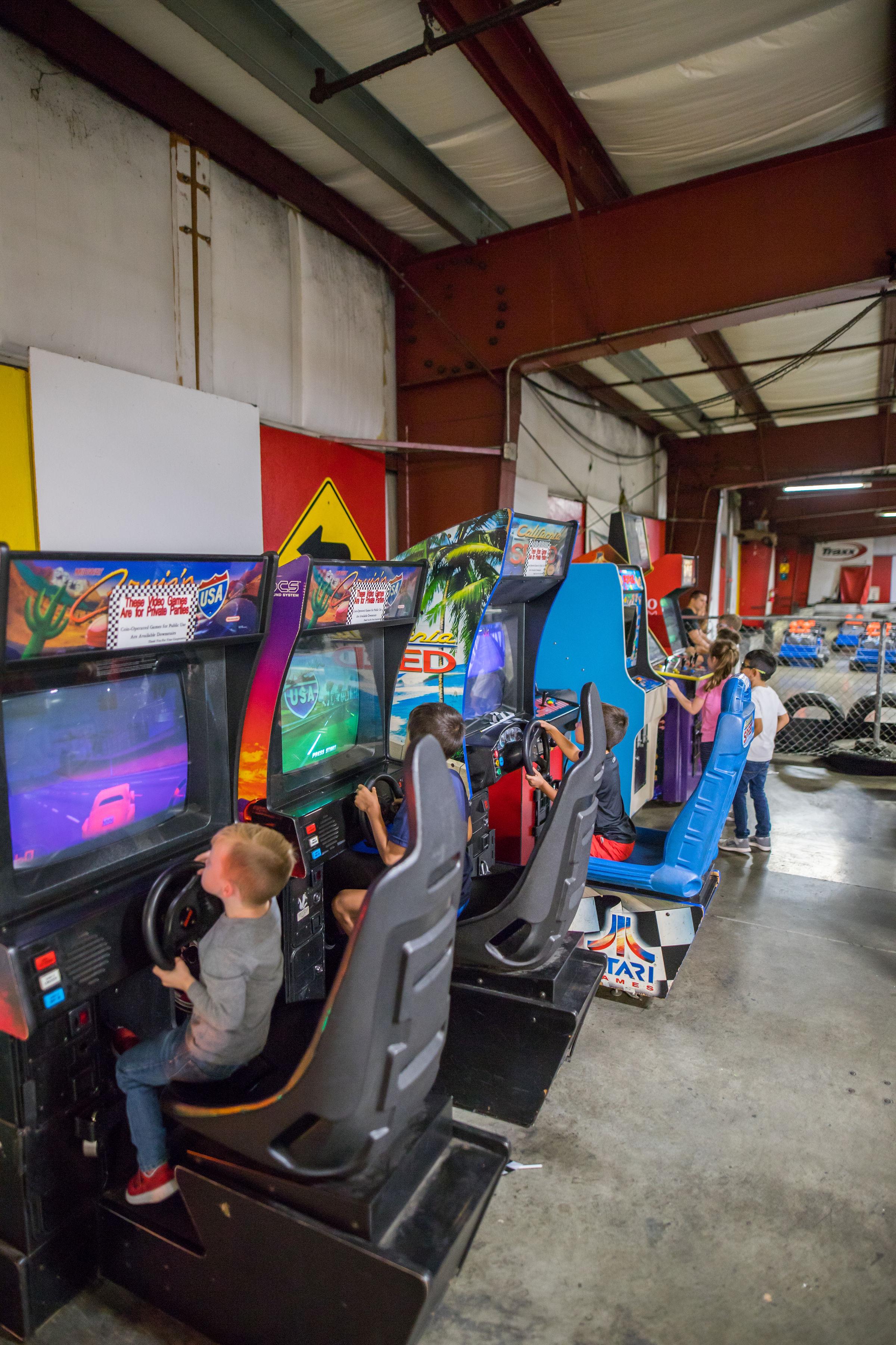 Old-School Arcade Games