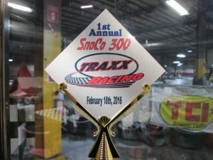 Trophies provided by Evergreen Speedway